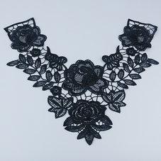 SPETSDEKOLLTAGE - svart