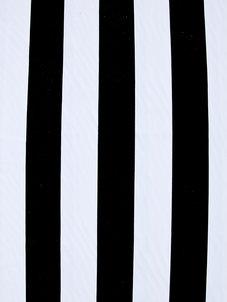 STRIPE svart/vit 5 cm