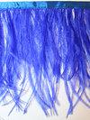 STRUTSFJÄDERFRANS - blå