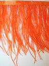 STRUTSFJÄDERFRANS - orange