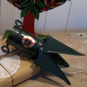 Gammal julgransfot från Eskilstuna stjärnan