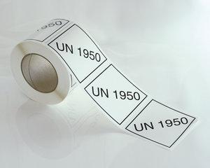 ADR Märkning UN1950