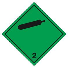 Klasse 2.2 - Skilt - 25 stk