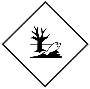 Miljøfarlige stoffer - 25x25 cm - 25 stk