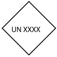 Valgfri UN Nr. 10x10cm
