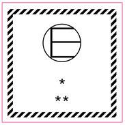 Farosymbol - E märke