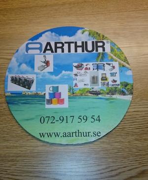 Arthur musmatta med tryck