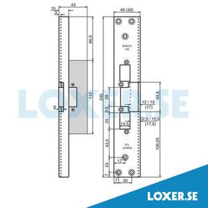 Monteringsstolpe T30-15