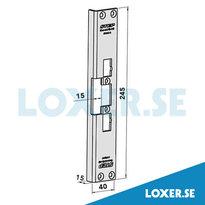 Monteringsstolpe ST4002-15 vinklad