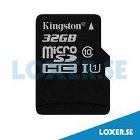 Minneskort microSDHC 32GB K.10 UHS-1