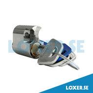 Cylinder d1203 insida 3 nycklar nickel