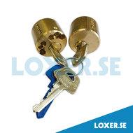 Cylinder d1212 rund 3 nycklar