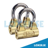 Hänglås PL3020, 2 stycekn lås med lika låsning
