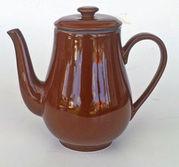 Kaffekanna porslin