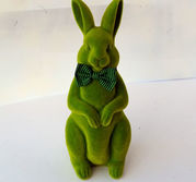 Plysch hare grön