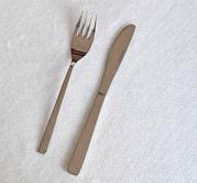 Förrättsbestick kniv o gaffel i rostfritt