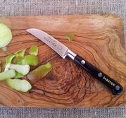 Sabatier skalknivkniv med böjd näbb.