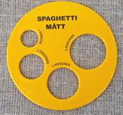 Spagettimått i plast