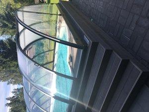 Proffs Glasfiberpool 9,4 x 4,4 x 1,3 m