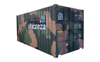 20 fots (33 m3) Container Camoflage