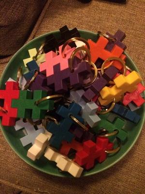 Nyckelring Plusplus