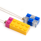 Halsband Byggkloss 2 färg