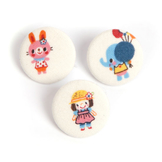 Liten Pin 'Happy' 3-pack