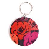 Nyckelring 'Floral' Ros