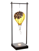 Hot Air Balloon Zebra Yellow