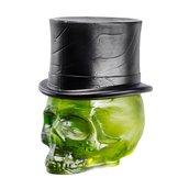 Still Life Skull Hatt Absinth