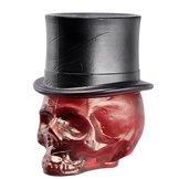 Still Life Skull Hatt Blood