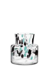 Fir Vase Green / Black Small