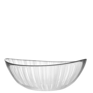 Pond Bowl Grass Low - Orrefors