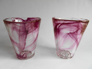Mine Glass Pink - Kosta Boda