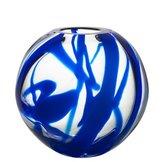 Globe Vase Blue
