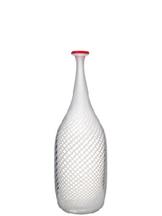 Red Rim Bottle White