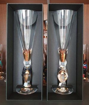 Nobel Djävulsglas Champagne Klarglas - Orrefors Champagneglas