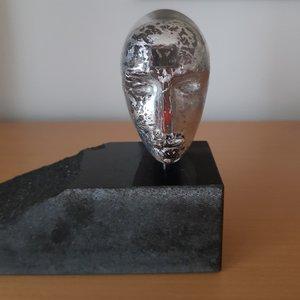 Minijanus White Head - Kosta Boda Limited