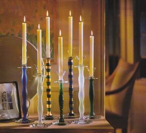 Celeste Candlestick White Small - Orrefors