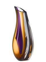 Orchid Vase Lilac/Amber Large