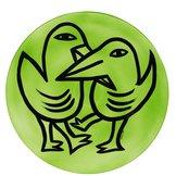Final Piece Fat Fåglar Grön