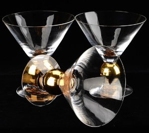 Nobel Martini Champagne Glass - Orrefors