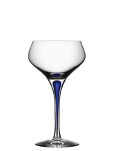 Intermezzo Blue Champagne Coupe