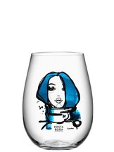Miss You Glass Blue 2-pack