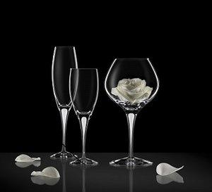 Intermezzo Satin Champagne Flute - Orrefors Champagneglas