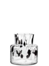 Birch Vase Black / White Small