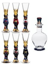 Nobel Devil Glass 6-pack + Decanter