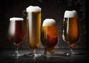 Beer Lager 4-pack - Orrefors Ölglas