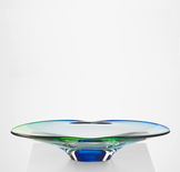 Summer Breeze Plate Green/Blue