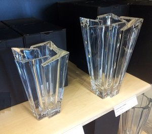 Glacial Vase Small - Orrefors